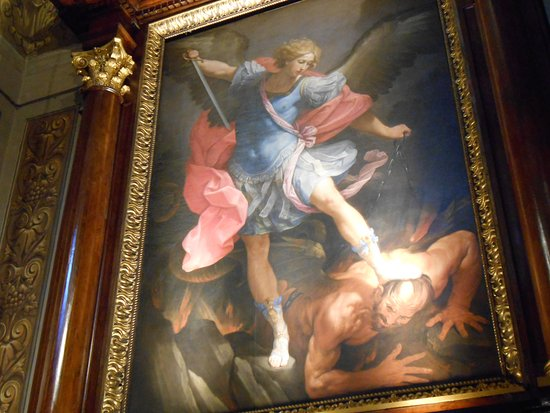 Conosciuto guido reni, l'arcangelo gabriele che caccia lucifero - Foto di  EW37