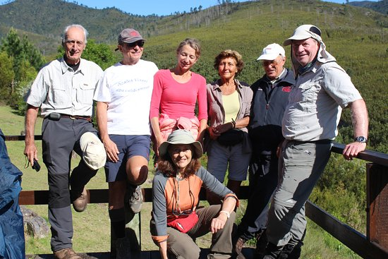 Kenilworth, South Africa: An amazing group of very fit stalwart hikers, mainly from Italy, on the Tsitsikamma Trail
