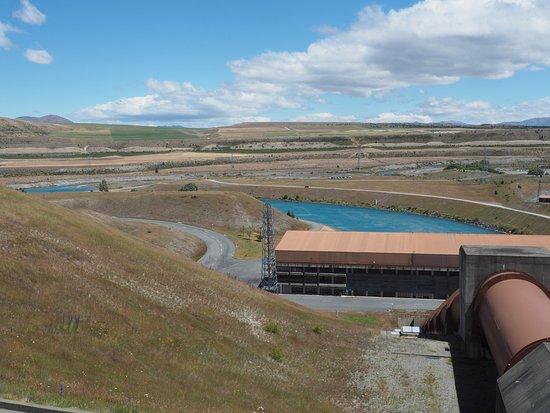 Twizel, Nueva Zelanda: ダムの上部