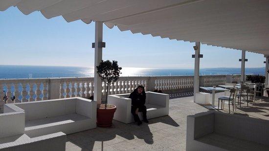 La terrazza del settimo piano - Foto di NH Collection Taormina ...