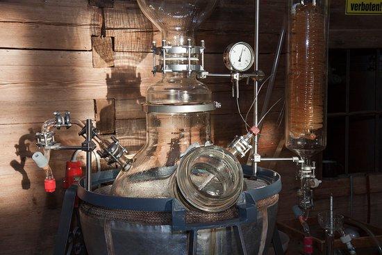 Penninger Schnapsmuseum Gläserne Destille