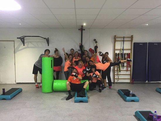 Mimizan, France: Groupe Boxe de la soirée Halloween