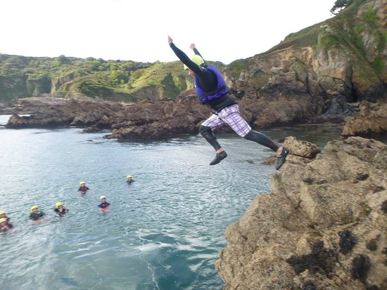 Outdoor Guernsey: Coasteering at Petit Bot...Head to our website for more info - www.outdoorguernsey.co.uk
