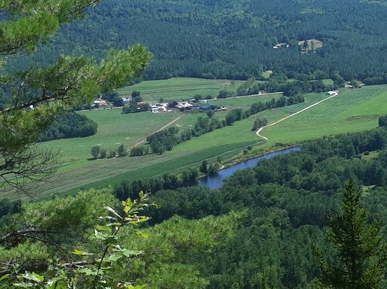 Mount Will Walking Trail : View of river valley