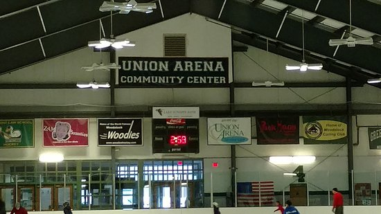 Woodstock, VT: Inside Union Arena