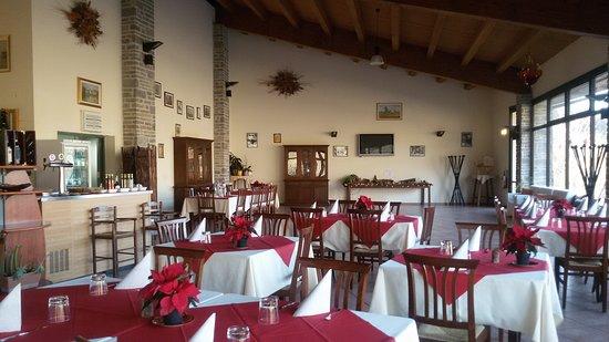 Verghereto, Włochy: Al Valico:interno.