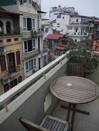 Joseph's Hotel: Balcony