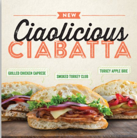 Smoky Mountain Pizzeria Grill: Nothing says YUM like our sandwiches on Ciabatta!
