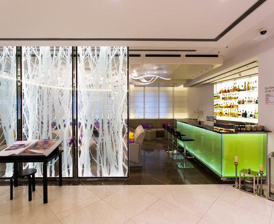 Lobby Bar at the Design Hotel Josef Prague