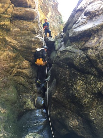 Wilderness, South Africa: Canyoning
