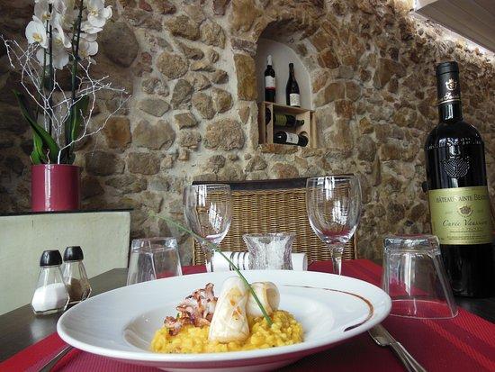 La Table de Nicolas : Risotto aux Calamars et Chorizo