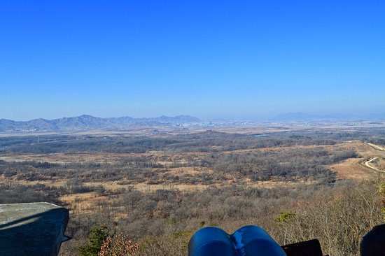 Paju, South Korea: North Korea from Dora Observatory