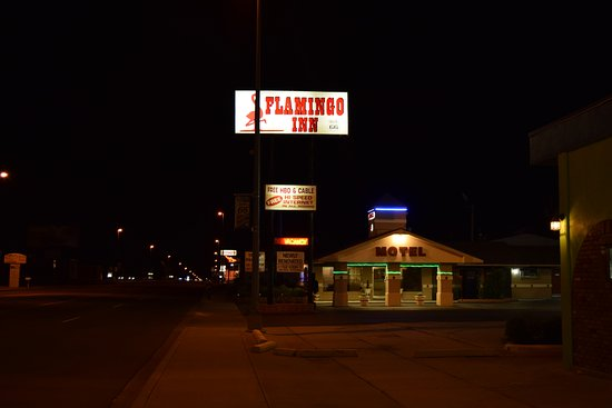 Flamingo Inn: This Motel is the original one right next to Route 66. It gets no better than this.