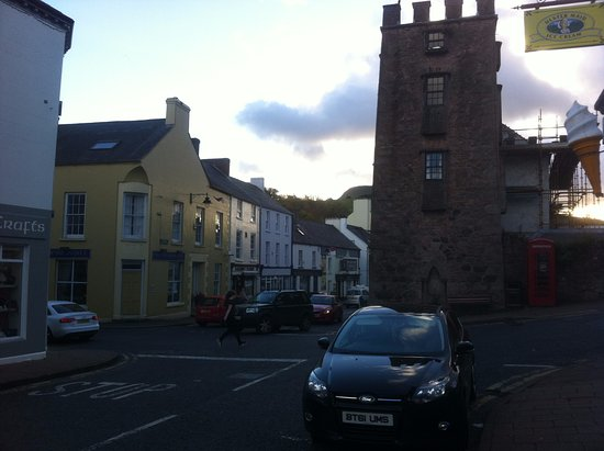 photo of Cushendall village