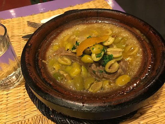 Cafe Guerrab: tajine olive meraviglioso