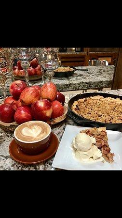 Fresh baked homemade desserts