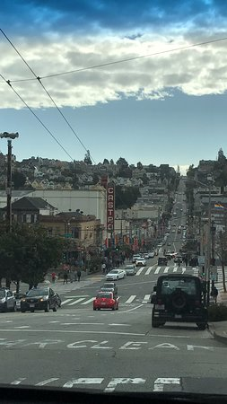 Inn on Castro: Right out the front door