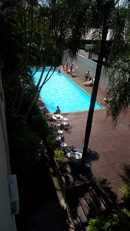 Líder Palace Hotel: Piscina di hotel líder,