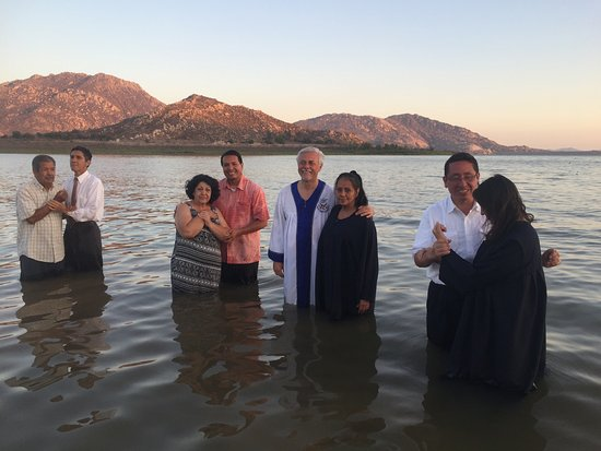 Baptisms at Lake Perris