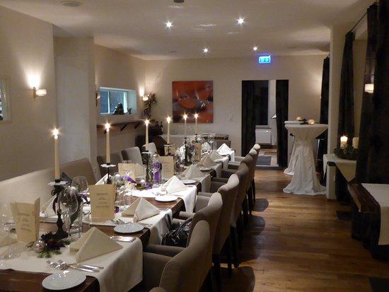 Boutique Hotel Friesinger: Feiern im Restaurant Meersalz