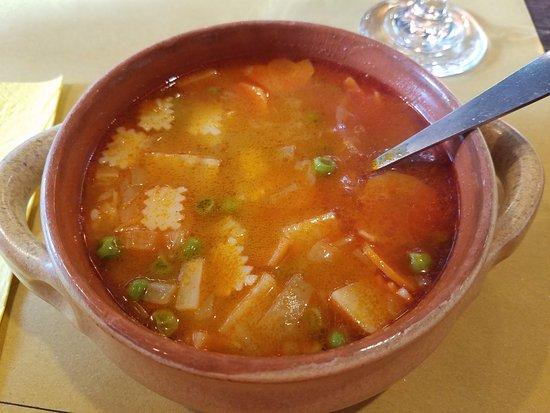 Chefparade Cooking School : Green pea soup