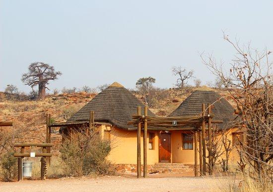 Mapungubwe National Park, جنوب أفريقيا: rondavel nummer 7