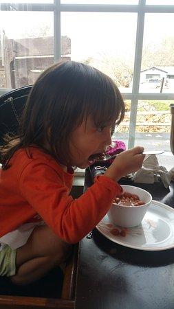 Atascadero, CA: NoNo loved the beans:)
