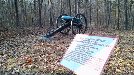 Fort Oglethorpe, Geórgia: Cannons, cannons, cannons.....