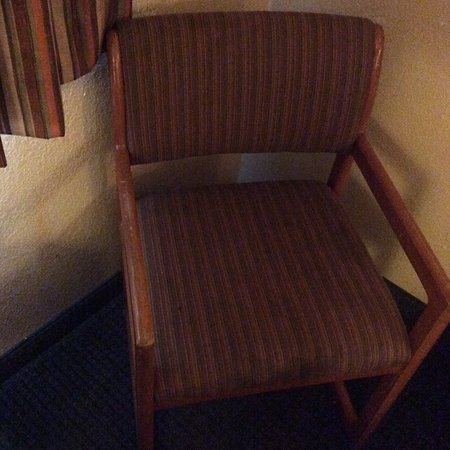 Premier Inns: Dirty old chair