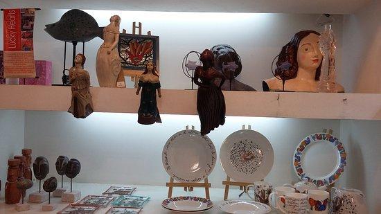 Valparaiso's Gate (La Puerta de Valparaiso): objetos de exposição