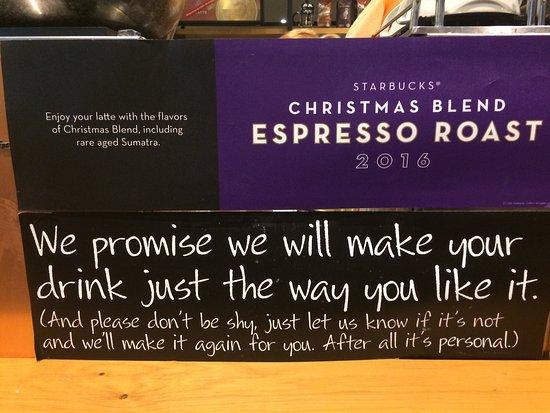 Antrim, UK: Starbucks