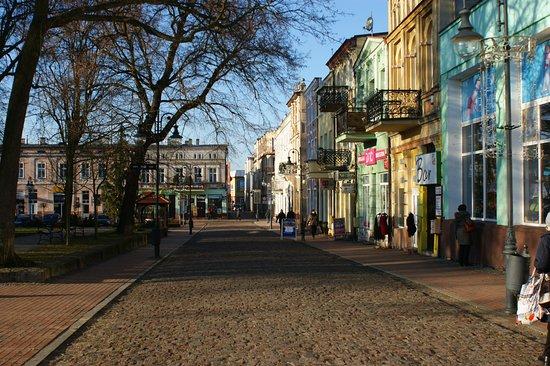 Tuchola, Polen: Rynek w Tucholi