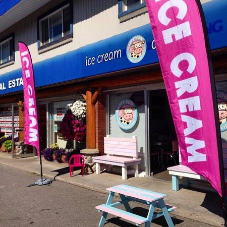 Fernie, Canadá: Happy Cow Ice Cream and Desserts