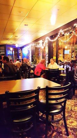 Press Bistro: dining area