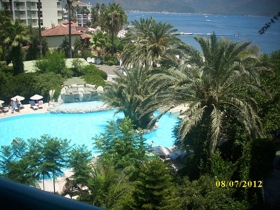 Tropikal Hotel : a view from room