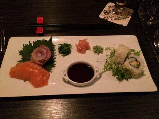 Heemstede, هولندا: sushi