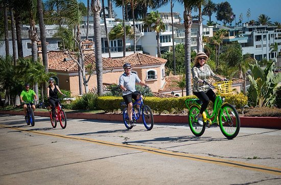 Owners ride in Corona del Mar.