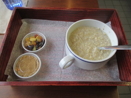 Columbia Heights, MN: Brown sugar and Dried Fruit Oatmeal