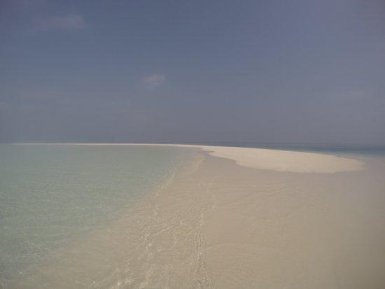 Lingua di sabbia vicino a Bangaram