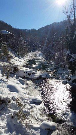 the amaizing winter river Cherni vit