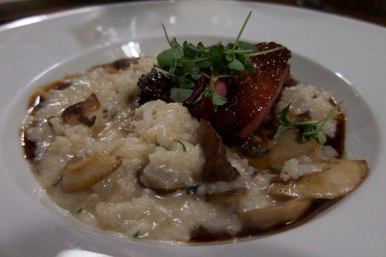 Vineland, แคนาดา: Smoked Duck risotto