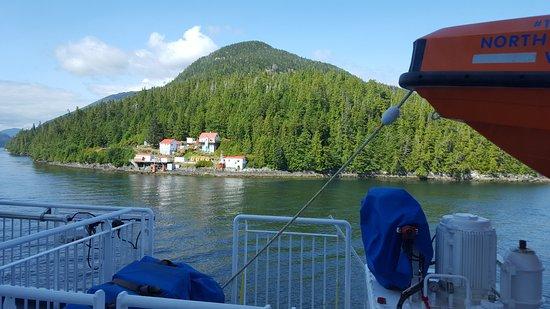 Port Hardy, Canada: Uitzicht