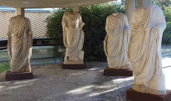 Archäologisches Museum Paolo Orsi (Museo Archeologico Regionale Paolo Orsi): entrance