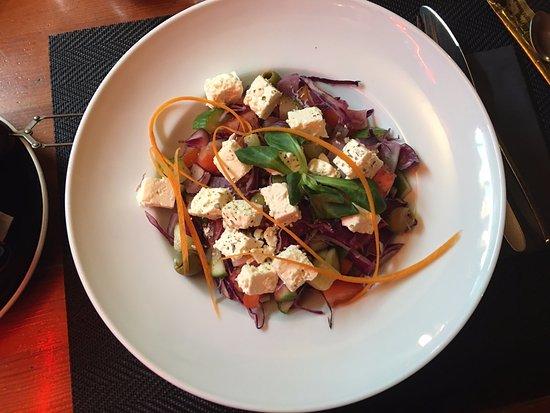 Zalaegerszeg, Hungary: Greek salad
