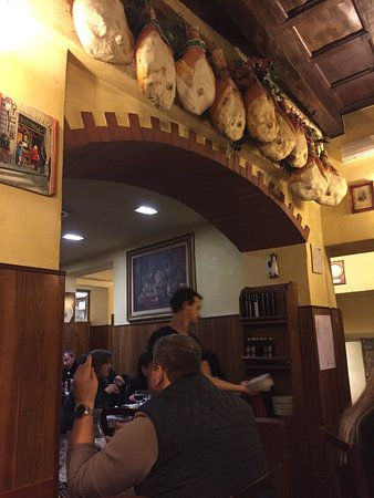 Trattoria Marione: Interno del ristorante