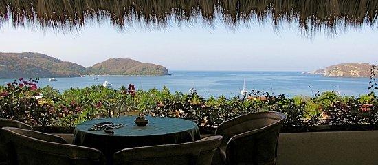 Villas San Sebastian: Donde desayunamos cada mañana...