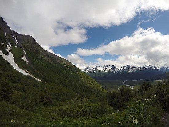 Kenai Fjords National Park, AK: On the trail.