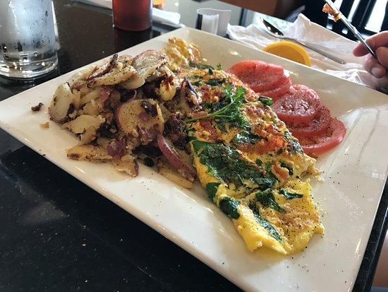 โอโคอี, ฟลอริด้า: decent greek omelet, cold potatoes