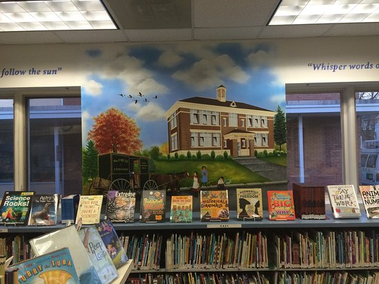 Eatontown, NJ: Pictures of library