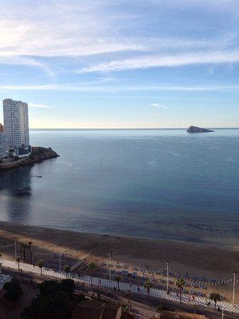 Apartamentos Oasis Benidorm: View from our room